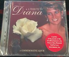 A TRIBUTE TO DIANA PRINCESS OF WALES COMMEMORATIVE ALBUM CD NEW SEALED