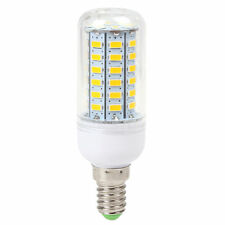 1pcs Universal E14 9W 56 LED SMD 5730 Light LED Corn Bulb Cool White 220-240V