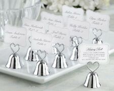 24 Kissing Bell Place Card Photo Holders Wedding Reception Party Favor Gift