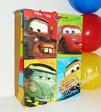 "NEW Disney CARS Team 95 10 x 13"" Birthday Party Goodie GIFT Tote Bag LARGE"