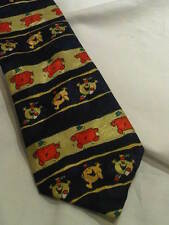 Vintage Living 'Mr. Men' Tie in Blue, Yellow, Green, and Red. (T132)