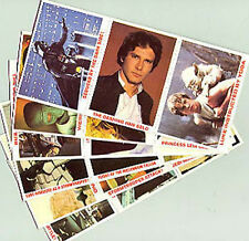 1980 Star Wars Burger King Promo Card Complete Set of 36- Unused