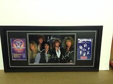 Whitesnake Genuine Hand Signed/Autographed Photograph with COA
