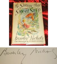 The Stream That Stood Still by Beverley Nichols & D/J 1948 - 1st/1st & Signed