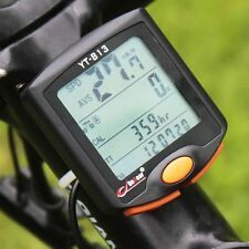 YT813 Outdoor Utility Bike Bicycle Cycling Cycle Computer Odometer Speedometer