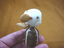 (TNE-FISH-111-A) Tropical reef FISH TAGUA NUT Figurine Carving Vegetable ivory
