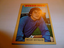 A&BC Chewing Gum Football Card 1973/74 Blue Back #90 TREVOR WHYMARK IPSWICH TOWN