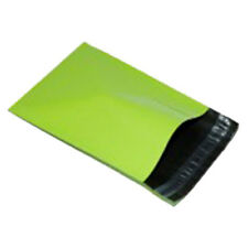 """100 Neon Green 12""""x16"""" Mailing Postage Postal Mail Bags"""