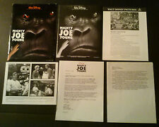 Press kit~ MIGHTY JOE YOUNG ~1998 ~Charlize Theron ~Bill Paxton ~Ron Underwood