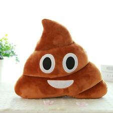 Cute Funny Emoji Cushion Poo Shape Pillow Stuffed Doll Toys Xmas Christmas Hot