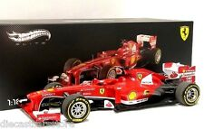 HOT WHEELS ELITE F1 FERRARI F138 F. ALONSO FORMULA 1 1/18 CHINA GP 2013 BCT82