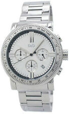 DGNP DW0676 D&G Gents Genteel Chronograph Stainless Steel Bracelet Watch