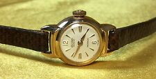 Vintage Record Geneve Swiss 17 Jewels 20 Micron Ladies Wind Up Watch-keeps Time