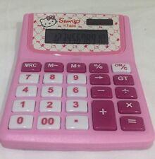 Hello kitty école filles à 12 chiffres électronique calculatrice kids papeterie cadeau