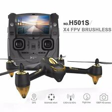 Hubsan H501S X4 5.8G FPV Brushless RC Drone Quad w/ HD Camera GPS 4.3'' display