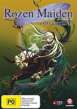 Rozen Maiden Ouvertre (DVD, 2012) Region 4