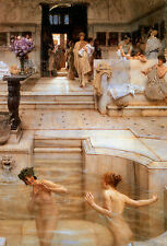 A Favourite Custom Lawrence Alma Tadema Canvas Giclee Print or Fine Art Poster