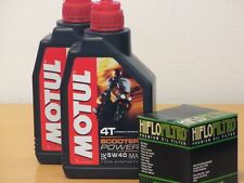 Motul  vollsyn Öl / Ölfilter LML Scooter 125 / 150 Star 4T Bj 09 - 13