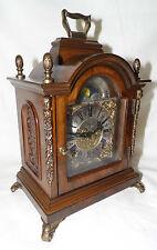 Vecchio orologio da tavolo camino olandese con fase lunare Warmink WUBA