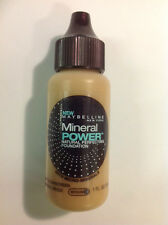 Maybelline Mineral Power N Perfecting Foundation NATURAL BEIGE (MEDIUM-2.5) NEW.