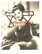 Vintage Debra Paget GORGEOUS BUSTY BEAUTY 50s DBW Publicity Portrait