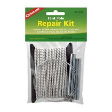 """New Authentic Coghlan's Tent Pole Repair Kit w/ 45"""" Shock Cord, 30"""" Wire 0194"""