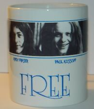 FREE / PAUL KOSSOFF - 'FREE' 2nd ALBUM - BEAUTIFUL 11oz MUG 100% DISHWASHER SAFE