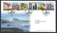 29208) UK - GREAT BRITAIN 2011 FDC Country Views A-L 12v