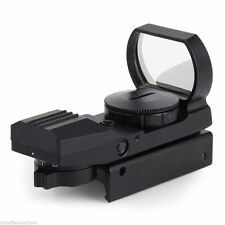 Hunting Tactical Holographic Reflex Red Green Dot Sight Scope 20mm 1x22x33 UP
