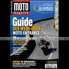 MOTO MAGAZINE HS 21 ★ GUIDE WEEK-ENDS ★ 20 Itinéraires FRANCE CARTES  ROAD-BOOKS