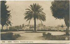 1920 Roma Palatino Piazzale Palma Ferrovia Sottoscrivete Prestito FP B/N VG
