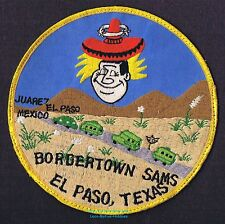 LMH Patch 1970s GOOD SAM CLUB Samboree Rally BORDERTOWN SAMS  El Paso TX Star 6""