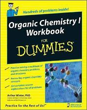 Organic Chemistry I Workbook for Dummies by Arthur Winter (2008, Paperback, Work