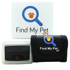 FMP-GPS Find My Pet GPS Tracker Smart Collar for Dogs & Cats, WORLDWIDE TRACKER