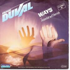 Singel Vinyl Frank Duval Ways aus Attentat auf Derrick B=Reflection