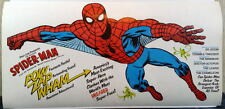 "Rare 1977 AMAZING SPIDER-MAN POCKET BOOK PROMOTIONAL POSTER 38""x25"" Marvelmania"