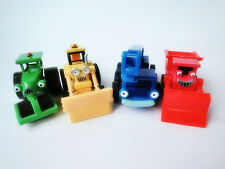 Learning Curve Bob the Builder 4pcs Metal Diecast Vehicle Toy Cars New Loose