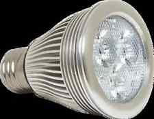 7W PAR20 LED Flood Bulb / Warm White 120V - 450 Lumens, UL Listed
