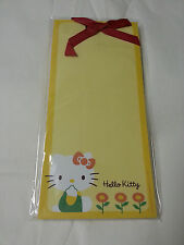 NEW Hello Kitty Memo Pad Yellow 60 Sheets with Magnet