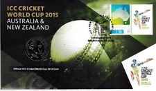 2015 AUSTRALIAN 20 CENT CRICKET WORLD CUP PNC - AUSTRALIA AND NEW ZEALAND