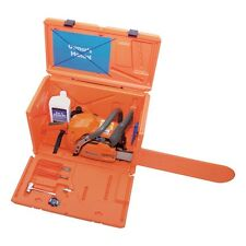 Husqvarna Orange Storage Chainsaw Case with 20 in Scabbard Chainsaw Accessories