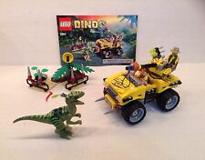 LEGO DINO SET 5884 RAPTOR CHASE COMPLETE WITH INSTRUCTION MANUAL, NO BOX