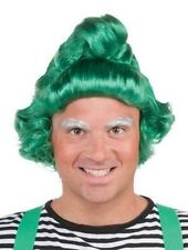 Original Christmas Elf Oompa Loompa Adult Green Wig Munchkins St Patricks - Fast