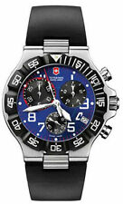 Brand New Men's Victorinox Swiss Army 241406 Summit XLT Blue Chronograph