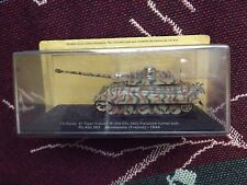 1:72 TANKS COLLECTION - TIGER II PORSCHE TURRET - NORMANDY FRANCE 1944