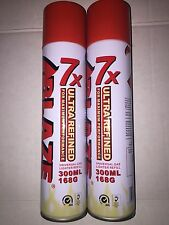 2 Ct ULTRA PURE USA Blaze 7x Lighter Refill Butane Gas Fuel For Torch Lighter
