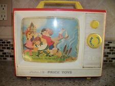 FISHER PRICE GIANT SCREEN MUSIC BOX TV FROM 1966