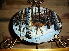 Woodland Royalty BIRCH GROVE Bruce Miller BUCK Danbury Mint Deer Plate