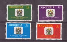 RHODESIA,  1973, RESPONSABLE GOVERNMENT,  SG 484-87, FINE USED  SET