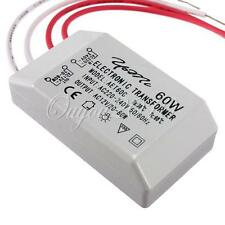 220V-12V 60W Halogen LED Lamp Electronic Transformer Power Supply Driver Adapter